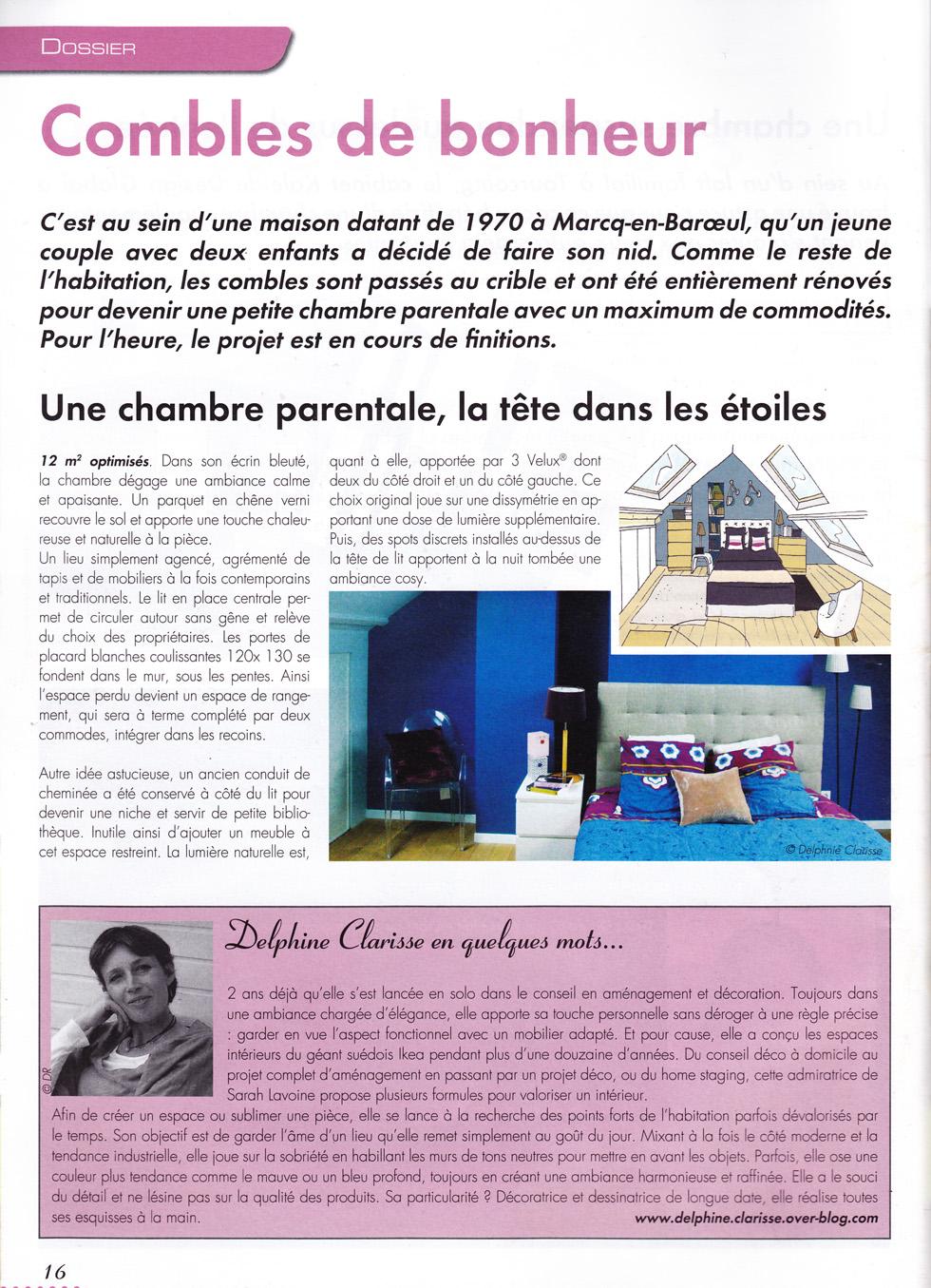 article dans grand lille d co f vrier 2013 architecture d 39 int rieur coaching d co lille. Black Bedroom Furniture Sets. Home Design Ideas
