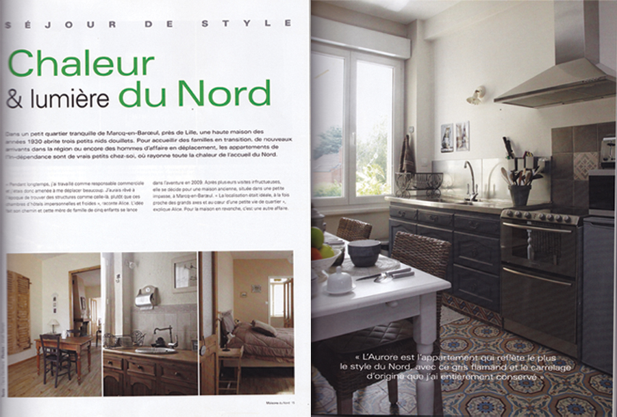 Article dans maison du nord octobre 2010 architecture for Amenagement interieur maison 1930 nord