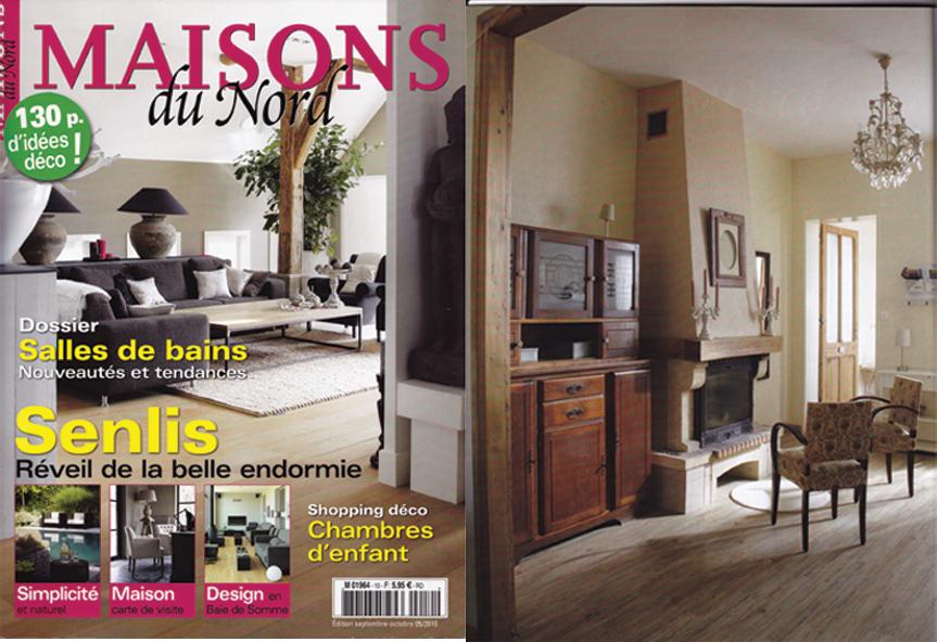 Article dans maison du nord octobre 2010 architecture for Article decoration interieur