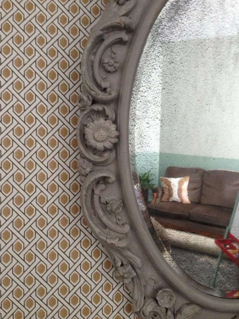 papier peint style vintage architecture d 39 int rieur. Black Bedroom Furniture Sets. Home Design Ideas