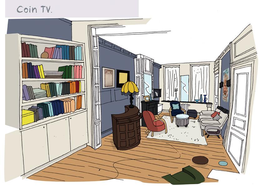 avant projet d 39 un grand salon roubaix choix des couleurs et id es d 39 am nagement. Black Bedroom Furniture Sets. Home Design Ideas