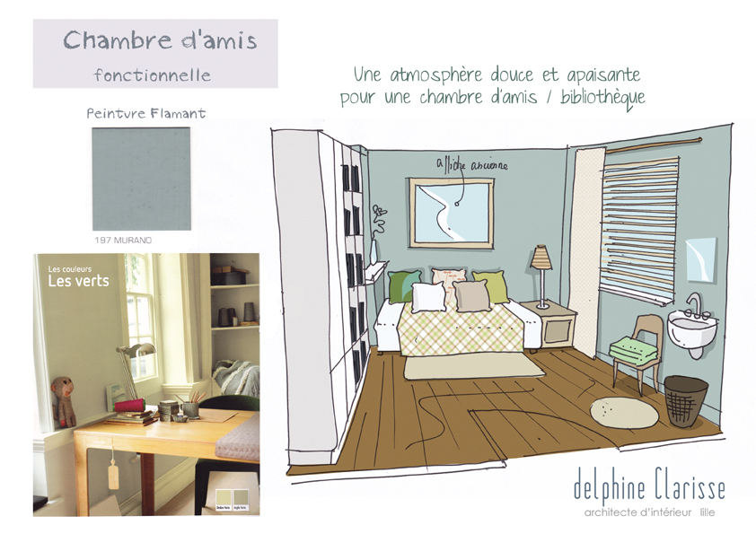 Conseils d co de chambres architecture d 39 int rieur for Cours de decoration d interieur