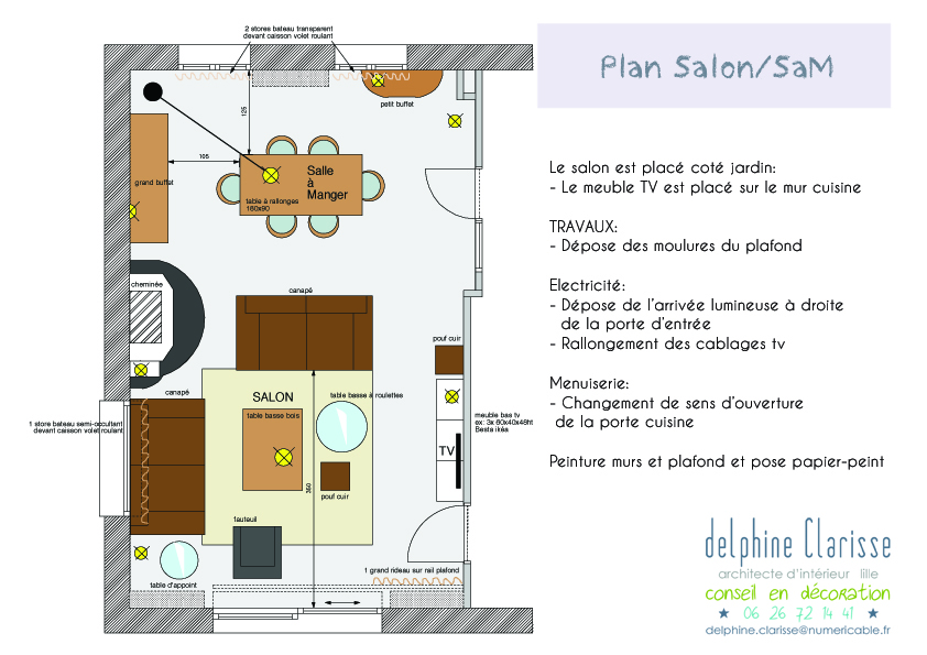 un salon modernis architecture d 39 int rieur coaching d co lille. Black Bedroom Furniture Sets. Home Design Ideas