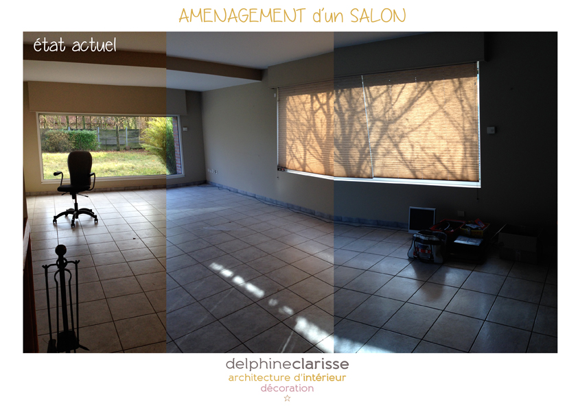 Am nagement d 39 un salon ouvert sur le jardin architecture for Conseil amenagement salon