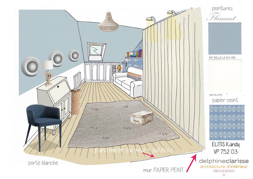 am nagement d 39 une chambre d 39 amis pi ce de rangement architecture d 39 int rieur coaching d co lille. Black Bedroom Furniture Sets. Home Design Ideas