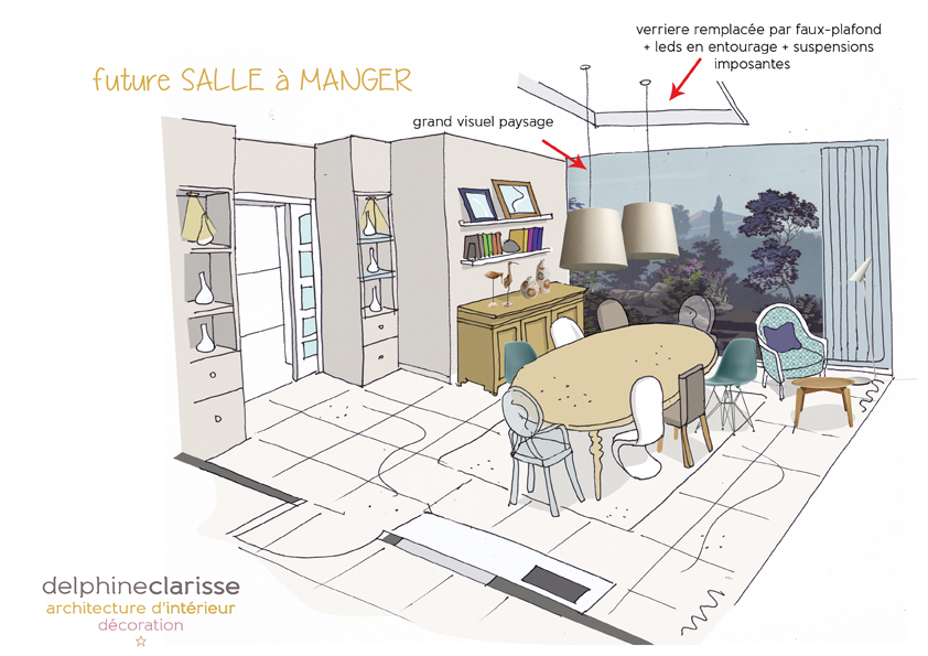 Actualit s for Renovation salon salle a manger