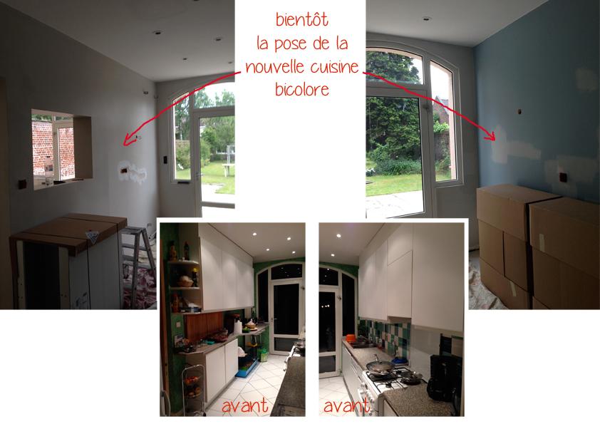 r novation d 39 une salle manger et cuisine travaux en On ecole decoration interieur lille