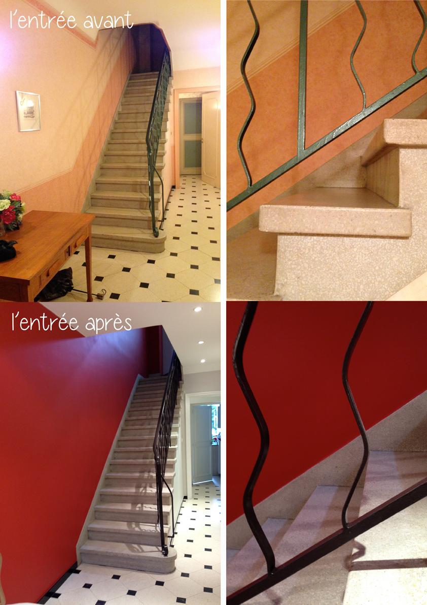 Transformation d 39 une maison sur lille architecture d - Relooker son couloir ...