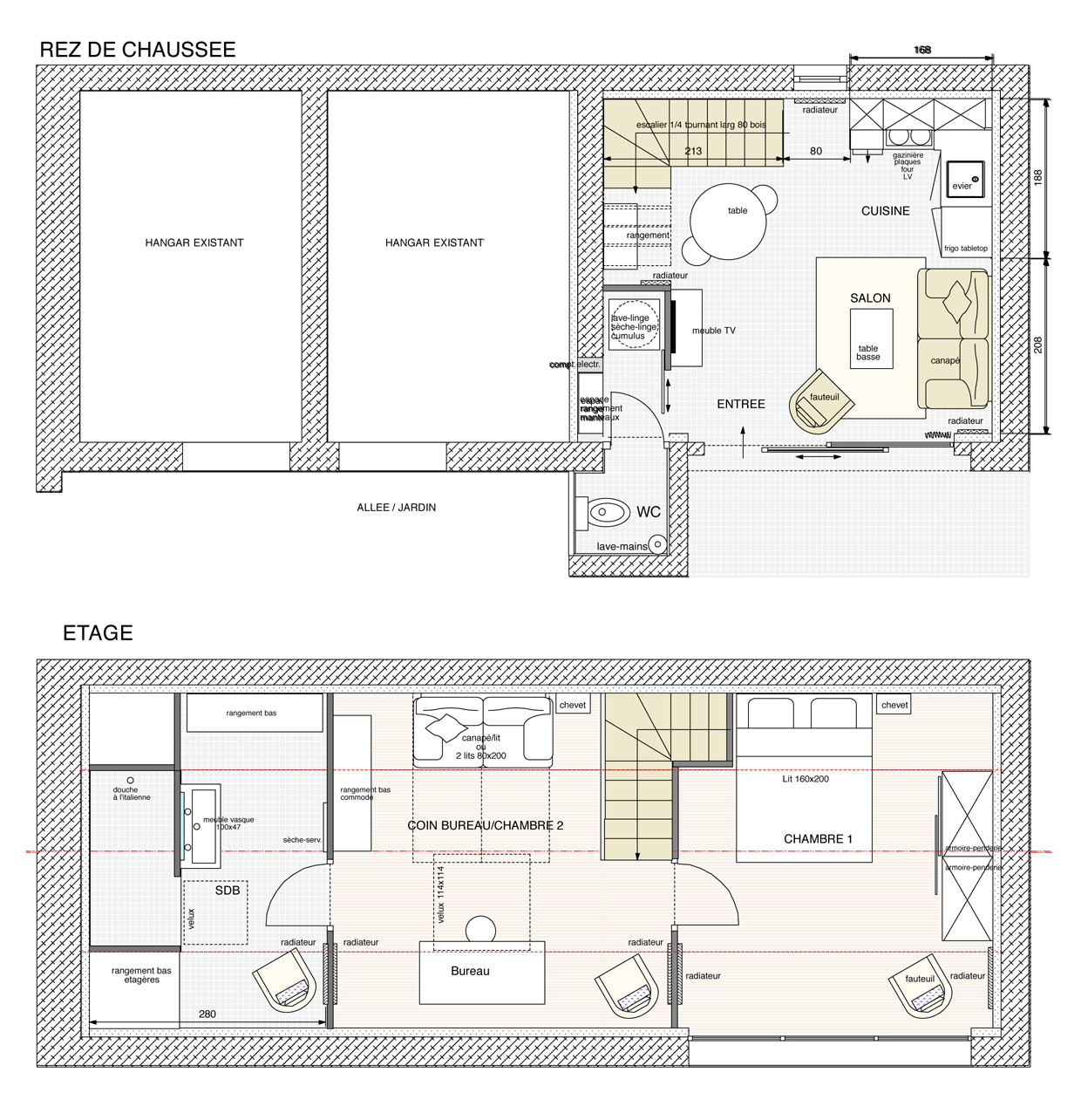 Plan amenagement maison meilleures images d 39 inspiration - Amenagement buanderie photos plans ...