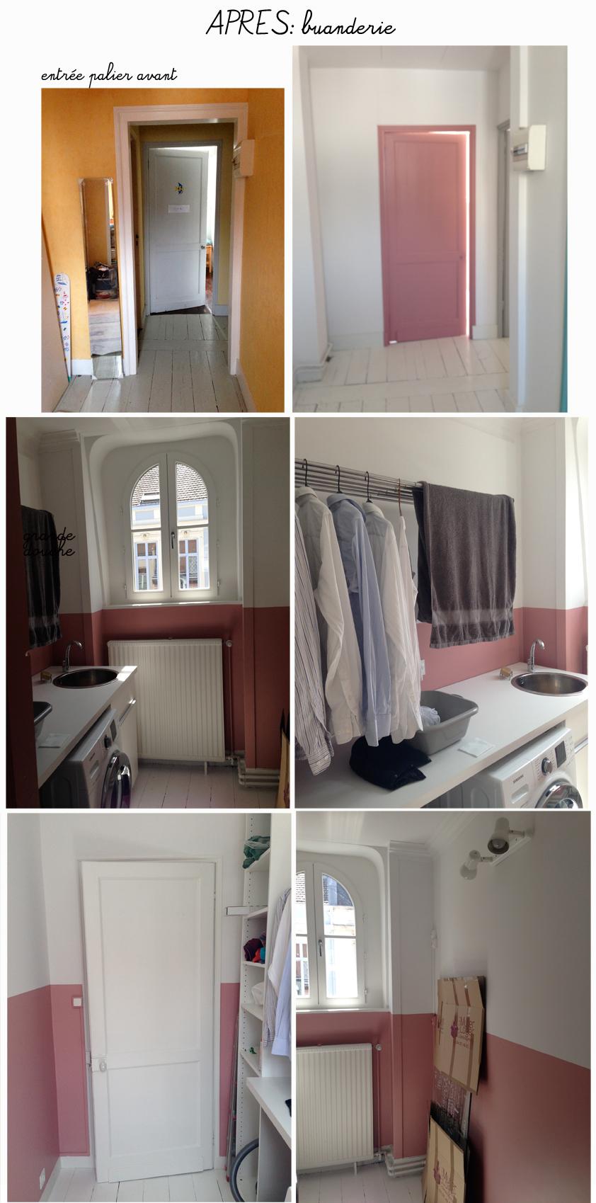 avant apr s cr ation d 39 une salle de bain et buanderie lille architecture d 39 int rieur. Black Bedroom Furniture Sets. Home Design Ideas
