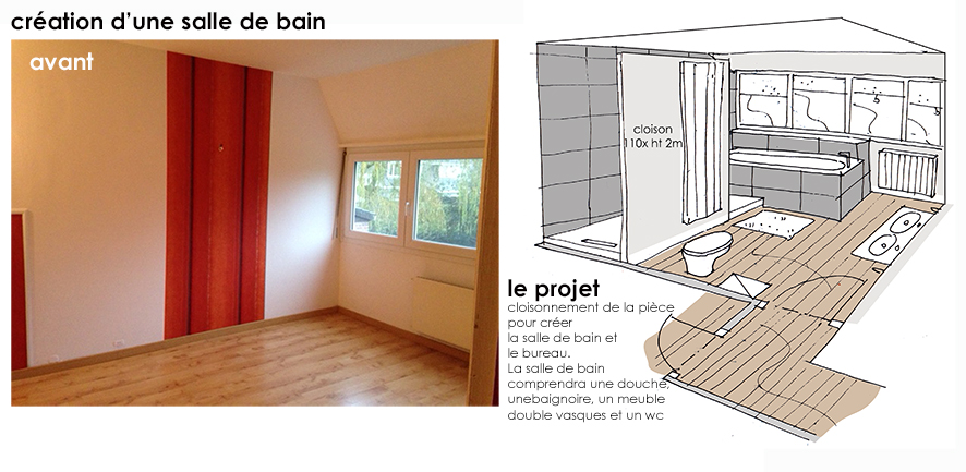 R novation compl te d 39 une maison marcq travaux en for Ecole decoration interieur lille