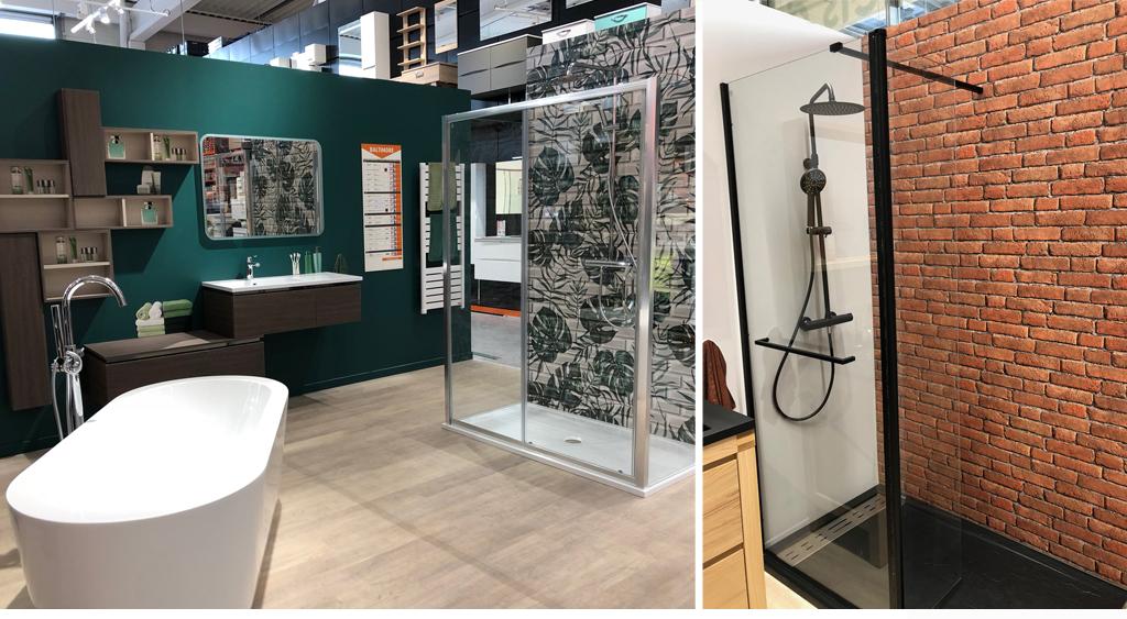 accessoirisation d 39 une zone salles de bain magasin bricoman architecture d 39 int rieur. Black Bedroom Furniture Sets. Home Design Ideas