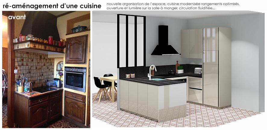 Amenagement D Une Cuisine Et Salle A Manger Lille Architecture